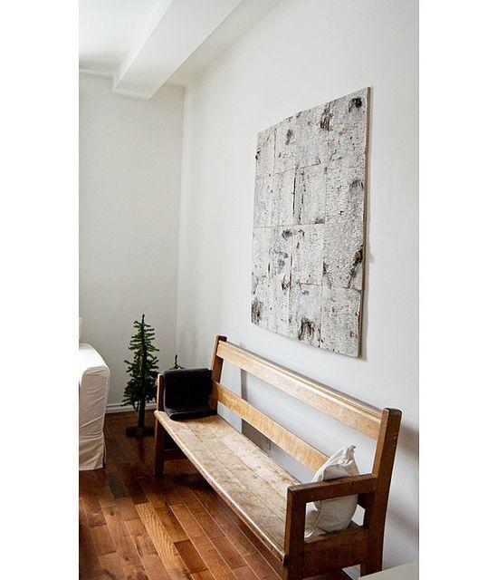 Birch Bark Wall Art in 2018 | Nooks and Crannies | Pinterest | Birch ...