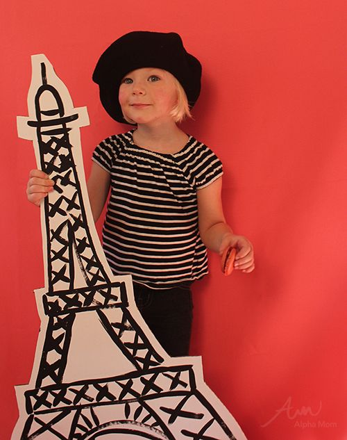 French Girl Kids Halloween Costume  sc 1 st  Pinterest & Kidsu0027 French-Inspired Halloween Costumes | Secret Agent Josephine ...