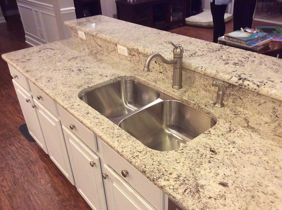 White Orion Granite Countertops Installation Outdoor Kitchen Countertops Granite Countertops Kitchen Outdoor Kitchen Appliances