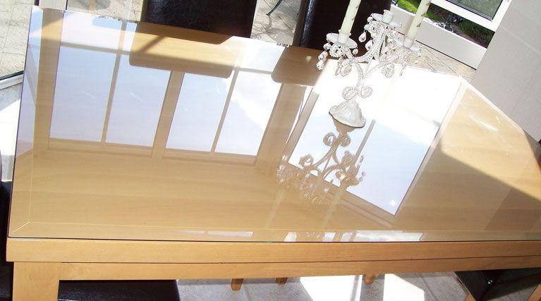 Plexigl Table Top Protector Design Ideas