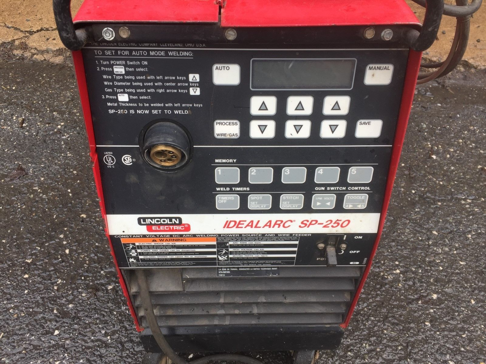 welder product electric lincoln side lot mig welders