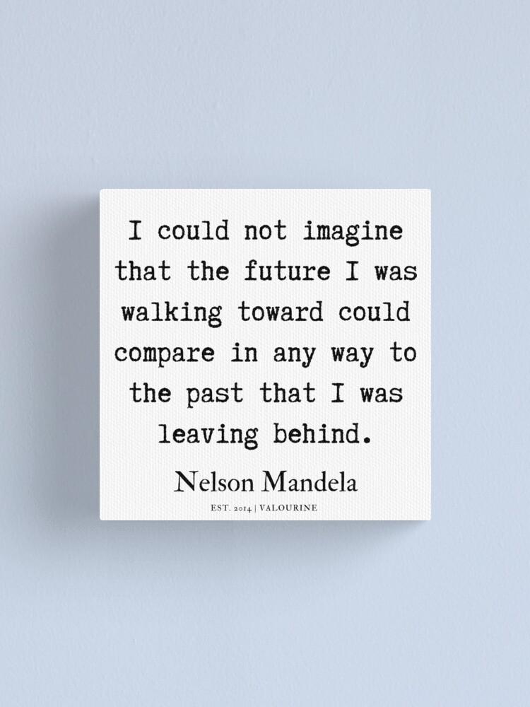 61  | Nelson Mandela  Quotes | 190818 Canvas Print by valourine