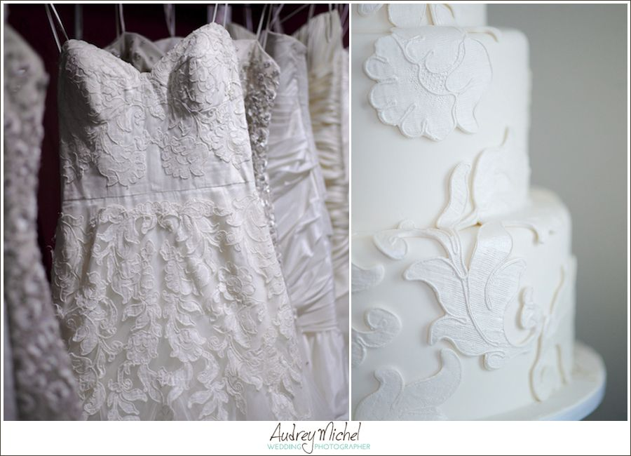 Absolutely love how intricate icing in denver matched our lyon lace absolutely love how intricate icing in denver matched our lyon lace wedding gown perfectly gown courtesy of white dress bridal shop photo by audrey junglespirit Images