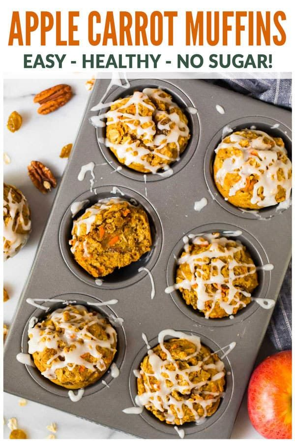 Apple Carrot Muffins images