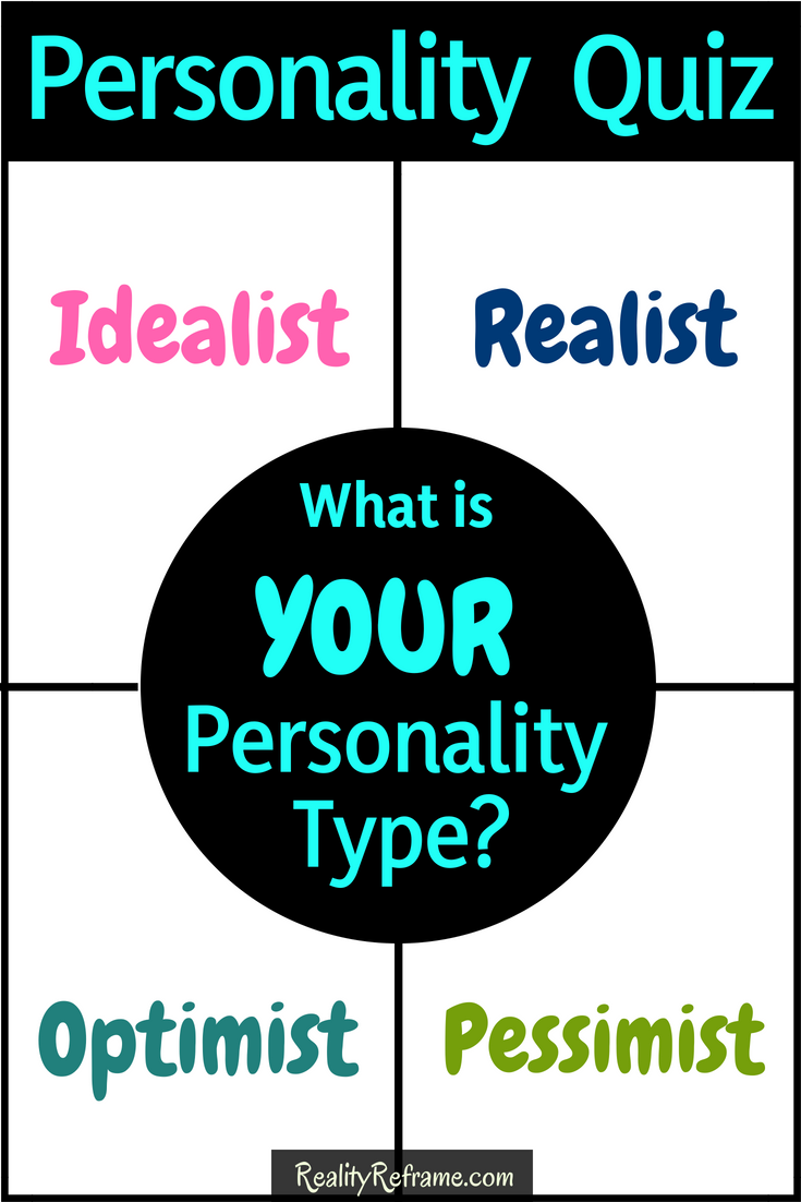 Multiple choice personality test