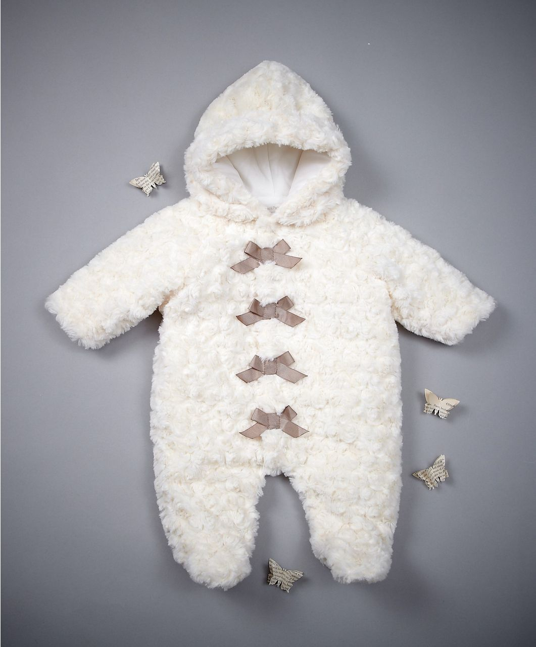 1c69559f0 Welcome to the World Fur Pramsuit - Pramsuits - Mamas   Papas