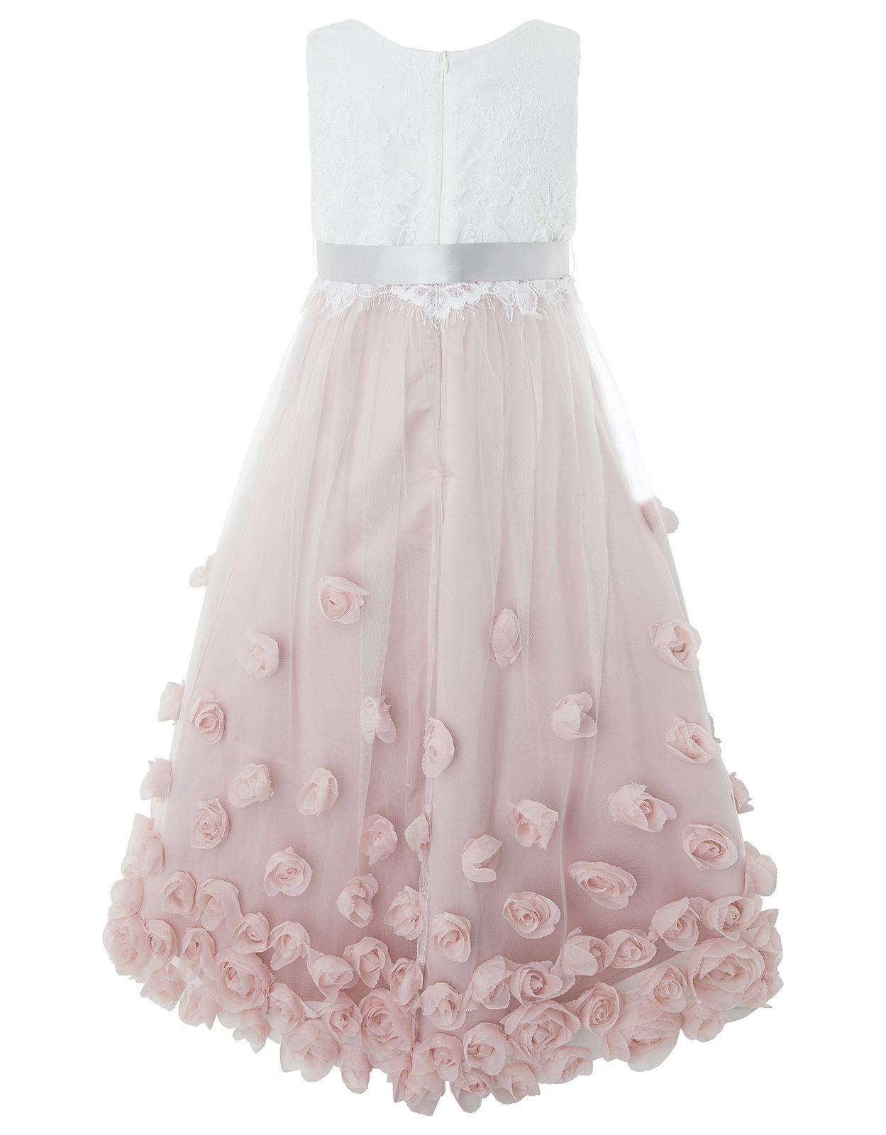 d075fac7b14 Monsoon | Ianthe Dress | Pink | 12-13 Years | 4151301232 ...