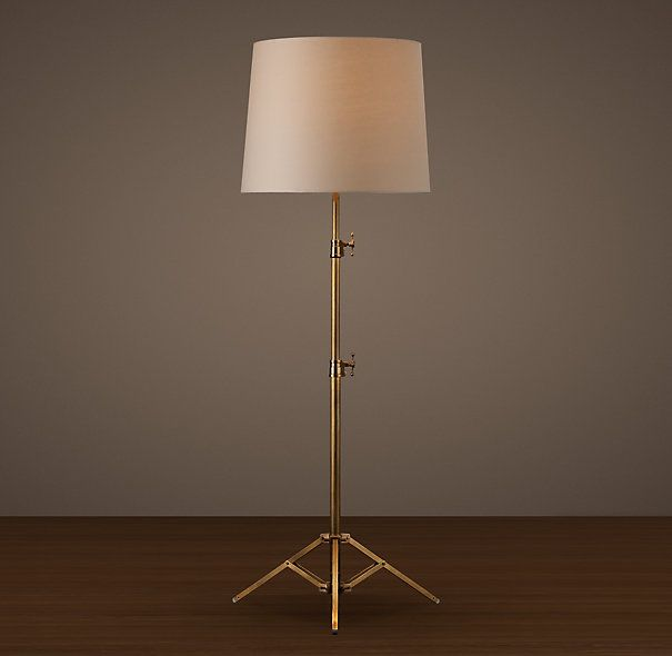 Restoration Hardware Studio Telescoping Floor Lamp. I have been ...