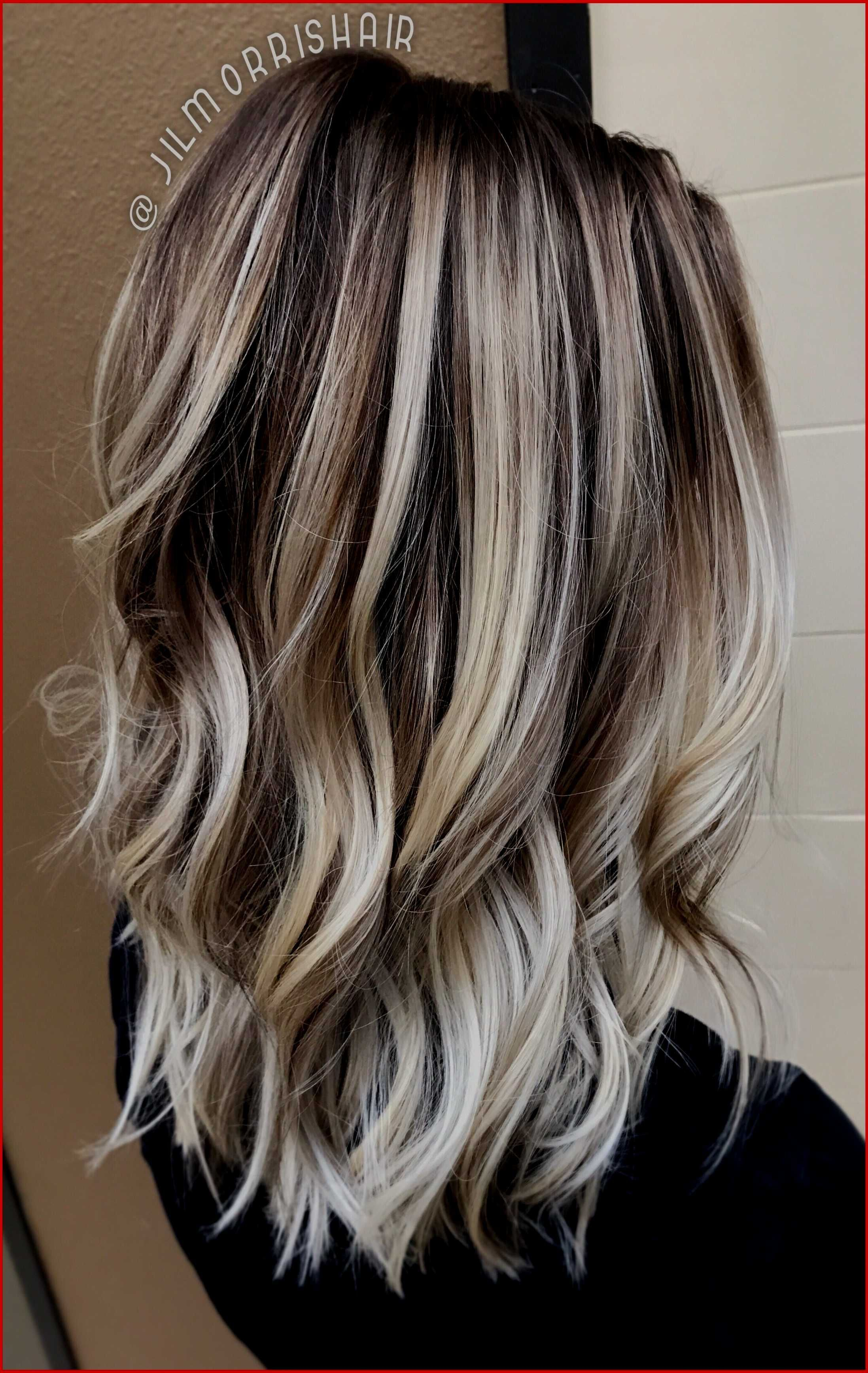 Hairstyles Blonde Highlights On Dark Brown Hair Exciting Red And