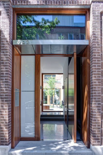 Great Entrance, As You Open The Front Door You See The Inner Courtyard,  Contemporary