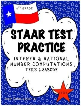 6th grade staar integers rational numbers teks 63d 63e 63a there are 20 multiple choice questions this is a 12 page document which includes a teacher answer key blueprint malvernweather Gallery