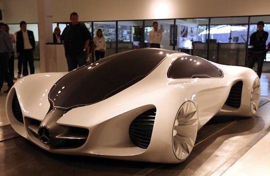 Merveilleux Mercedes Benz Biome Concept Car Is Grown Inside A Nursery