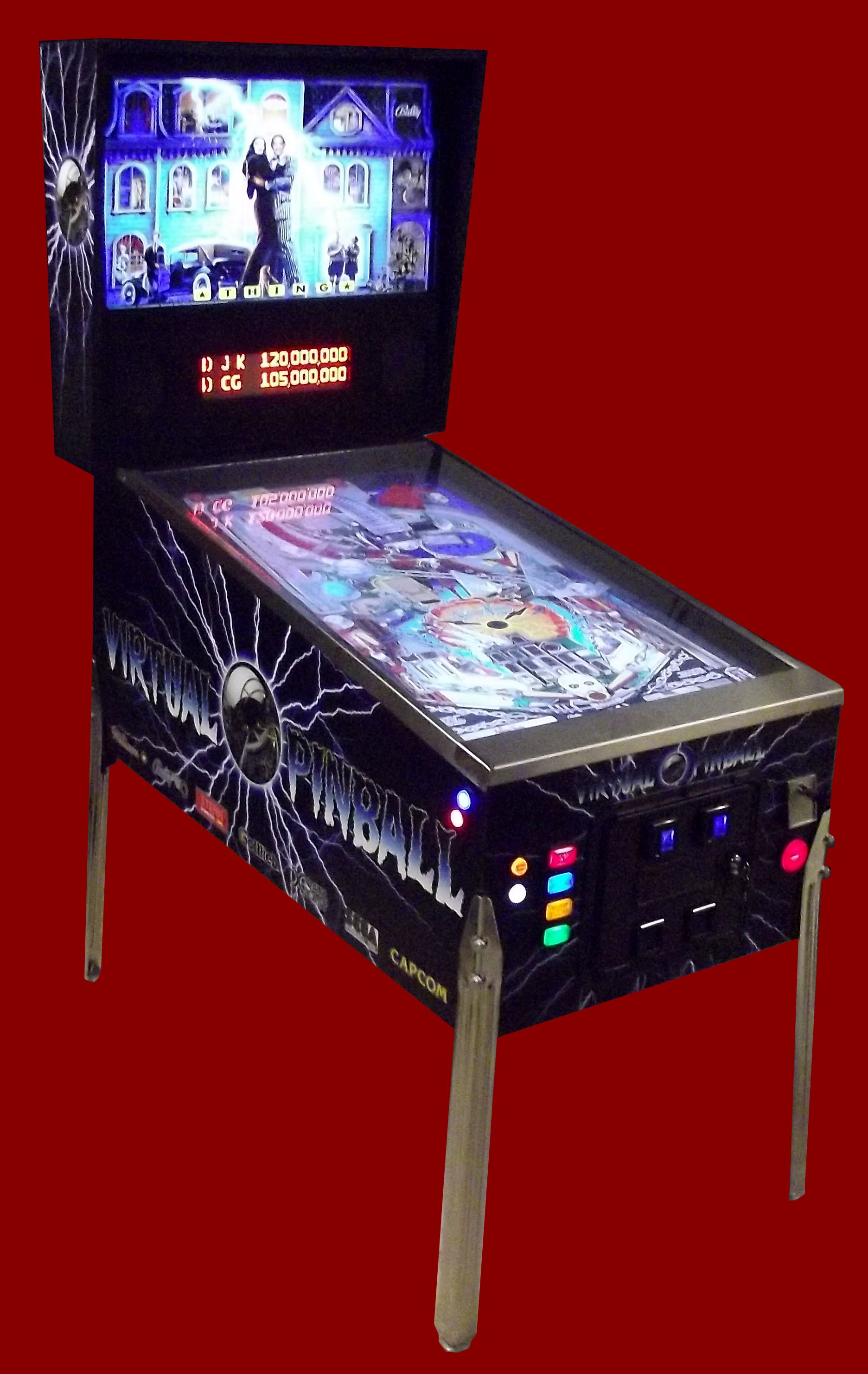 Feedback Virtual Pinball | Arcade Visual Pinball | Pinball