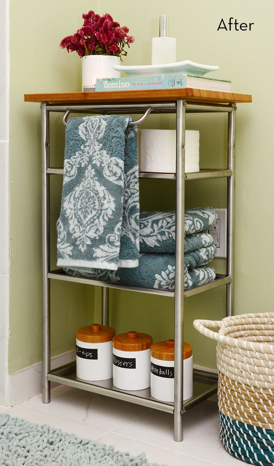 Before and After: A Super Easy Grundtal Cart IKEA Hack  Diy
