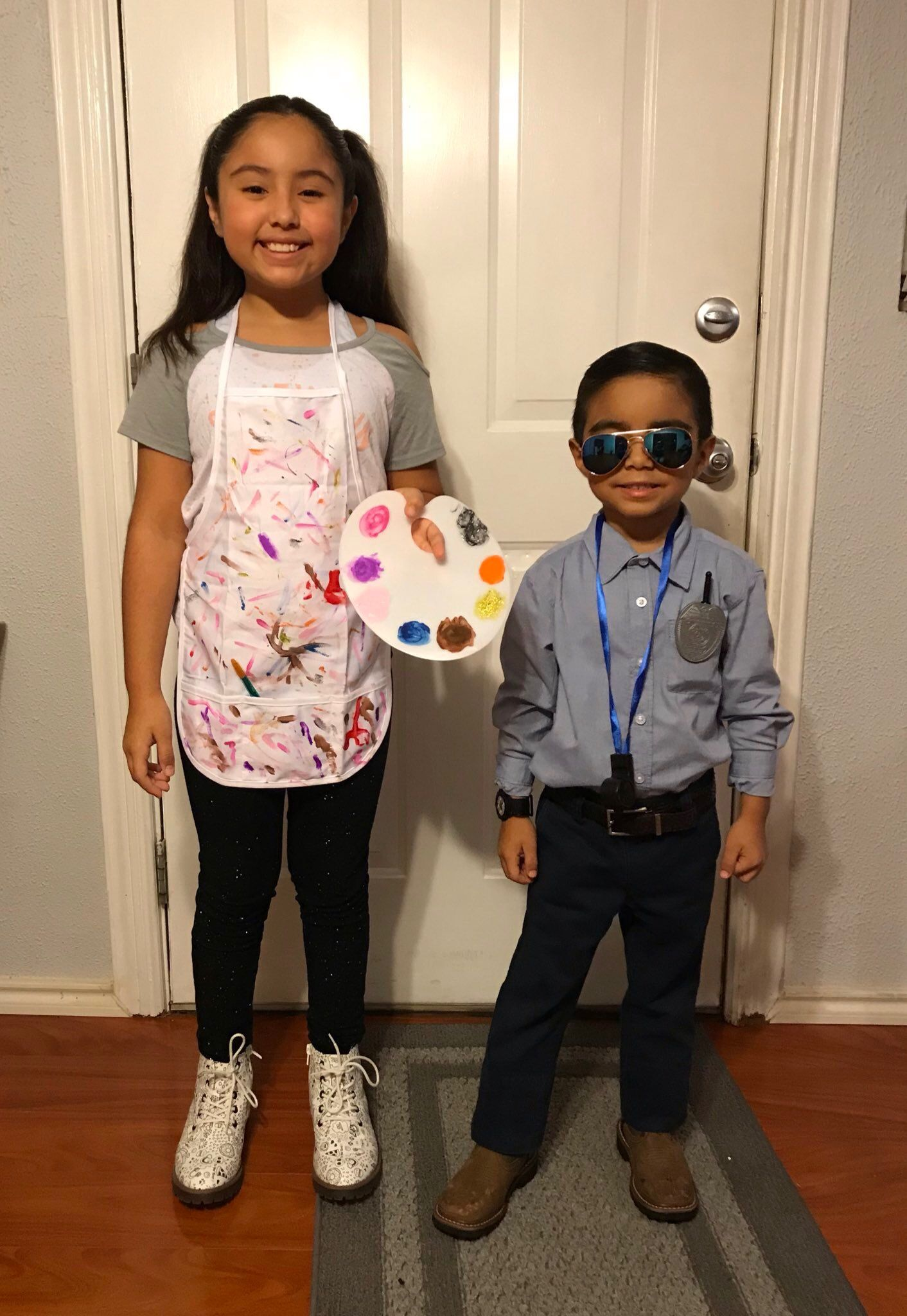 Career day dress up artist copdetective day dresses