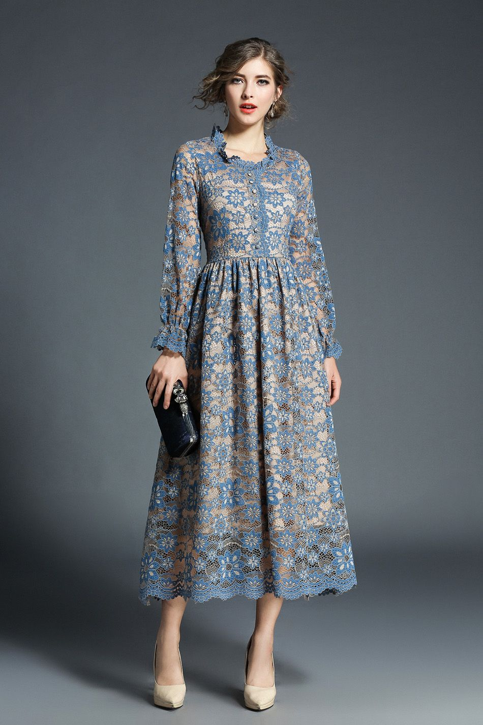 Bayan Elbise Elbiseler Dantel Elbiseler Dantel Elbise