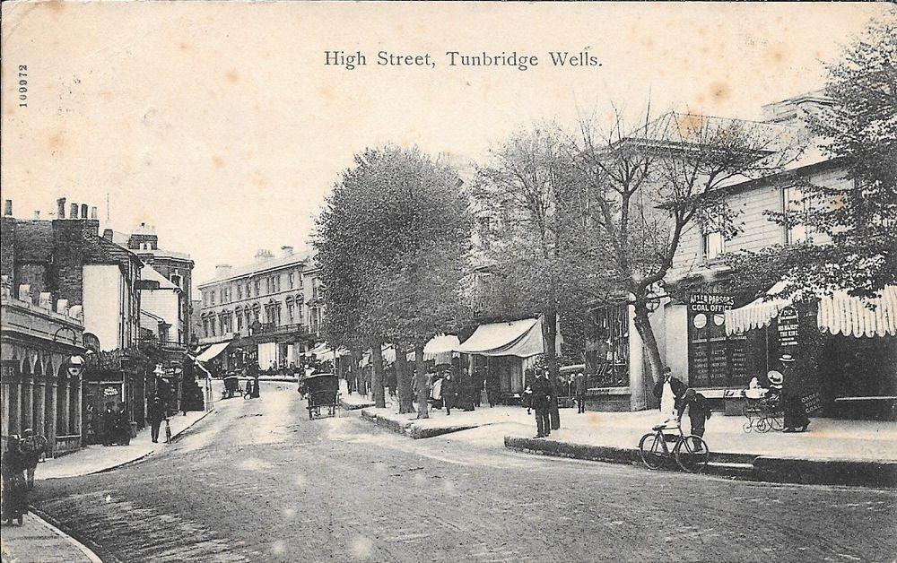Postcard Of The High Street Tunbridge Wells Kent Ebay Historical London Tunbridge Wells London History