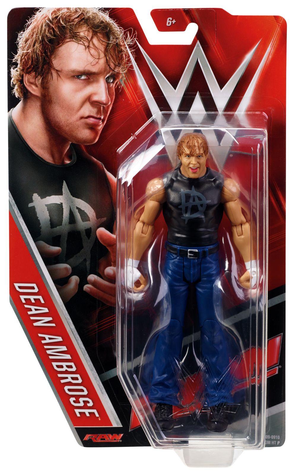 Randy Orton Mattel WWE 2015 Basic Series Red Action Figure RAW SMACKDOWN WWE