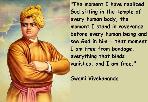 Image result for temple of God in everyone of us vivekananda