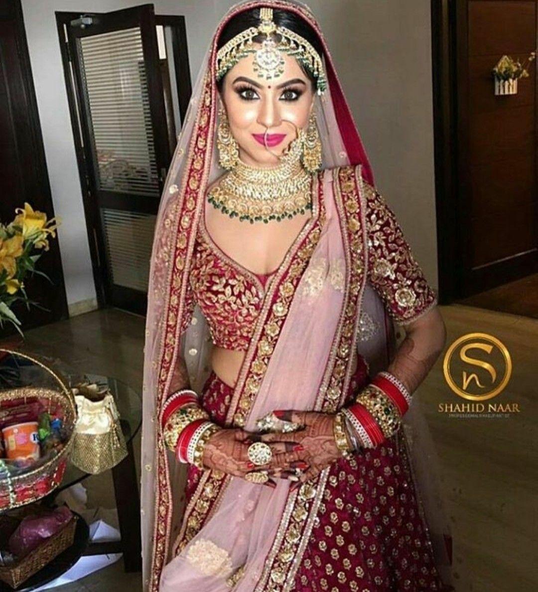 Hindu wedding dress  Pin by KrutiChevli on Indian Jewellery  Pinterest  Indian designer