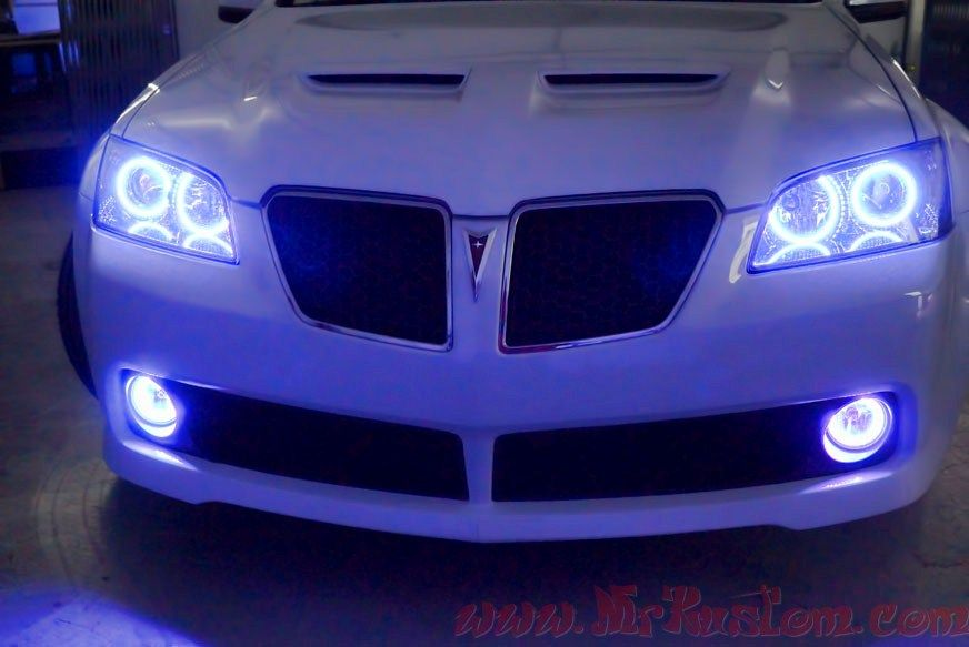 Pontiac G8 Multi Colored Oracle Halo Headlights | Stuff to