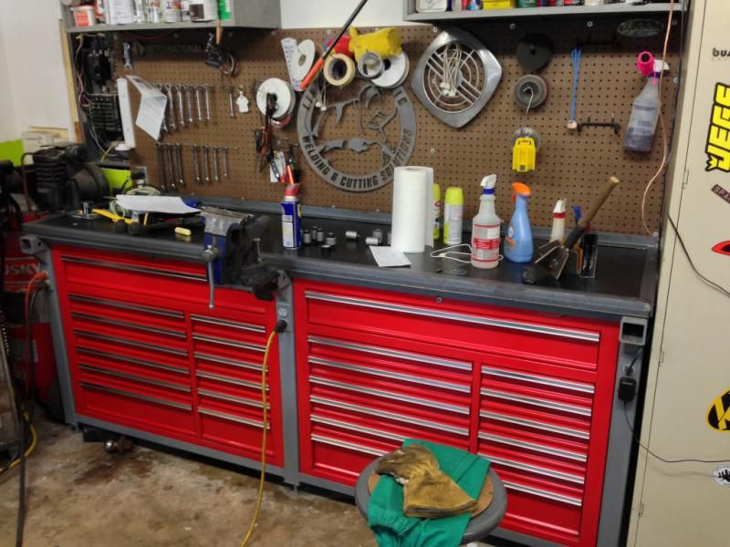 Ultimate 2 Car Garage Workbench Build