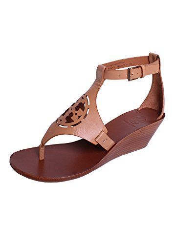 TORY BURCH Tory Burch Zoey 50Mm Wedge Sandal In Sand.  toryburch  shoes   shoes 99e56029d4fc