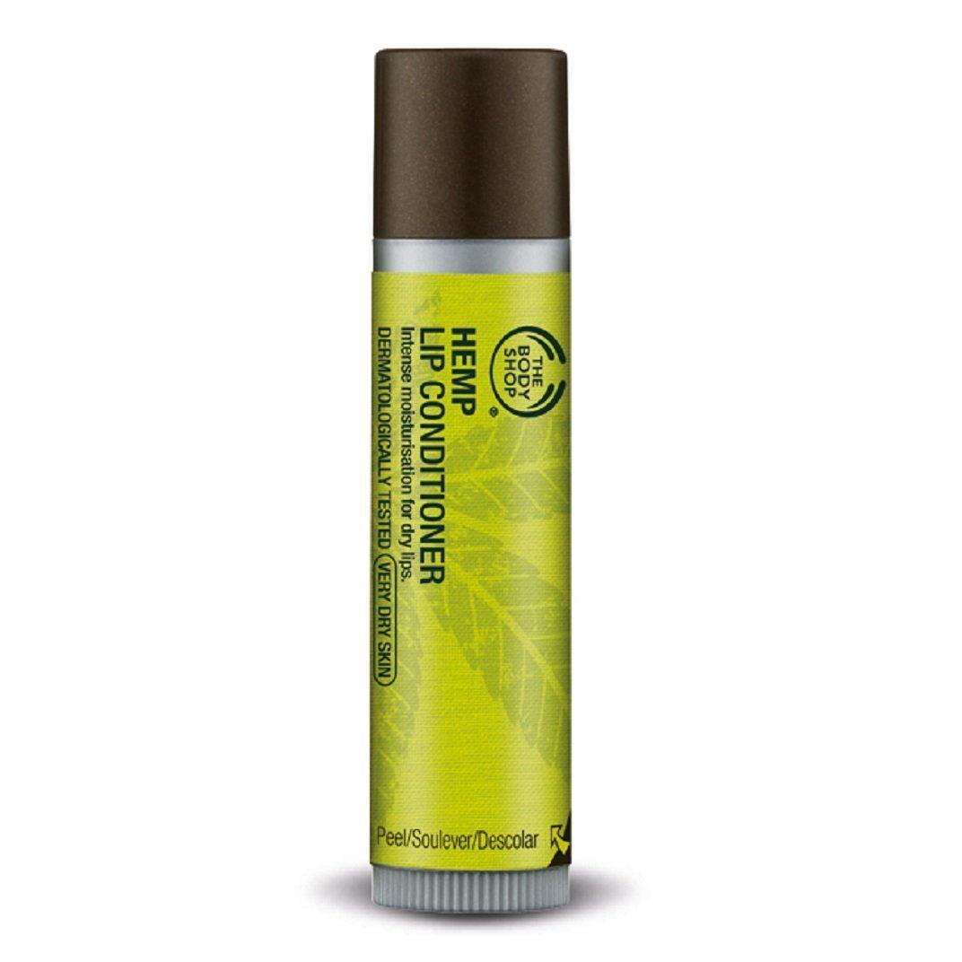 Body shop hemp lip conditioner dont get left behind