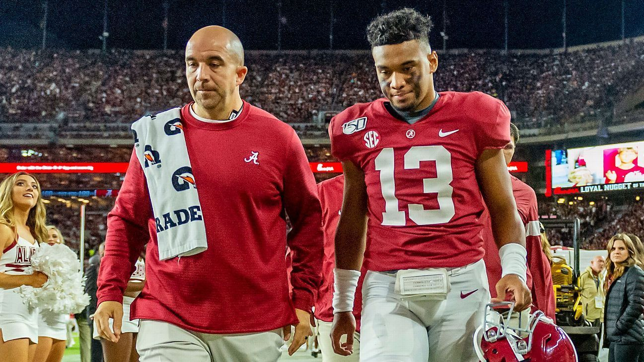 Saban There's 'no real timeline' for Tua's return Nick