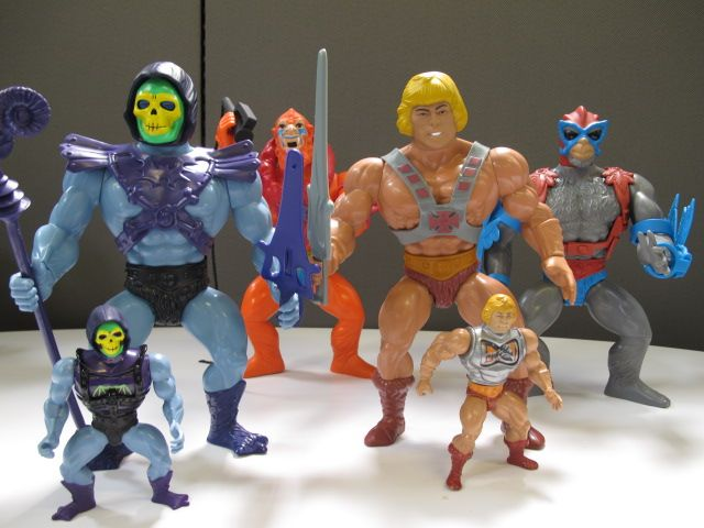 Classics #Skeletor and He-Man stand guard for the 2014 Giants. Only at MattyCollector.com #entertainment #toys #MOTU