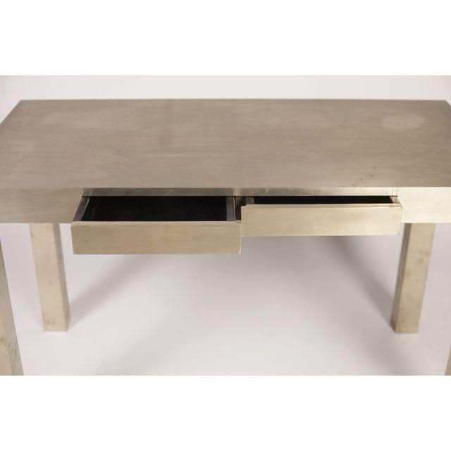Charming Someone Else West Elm Metal Parsons Desk, Again Very Hard To Photograph Great Ideas