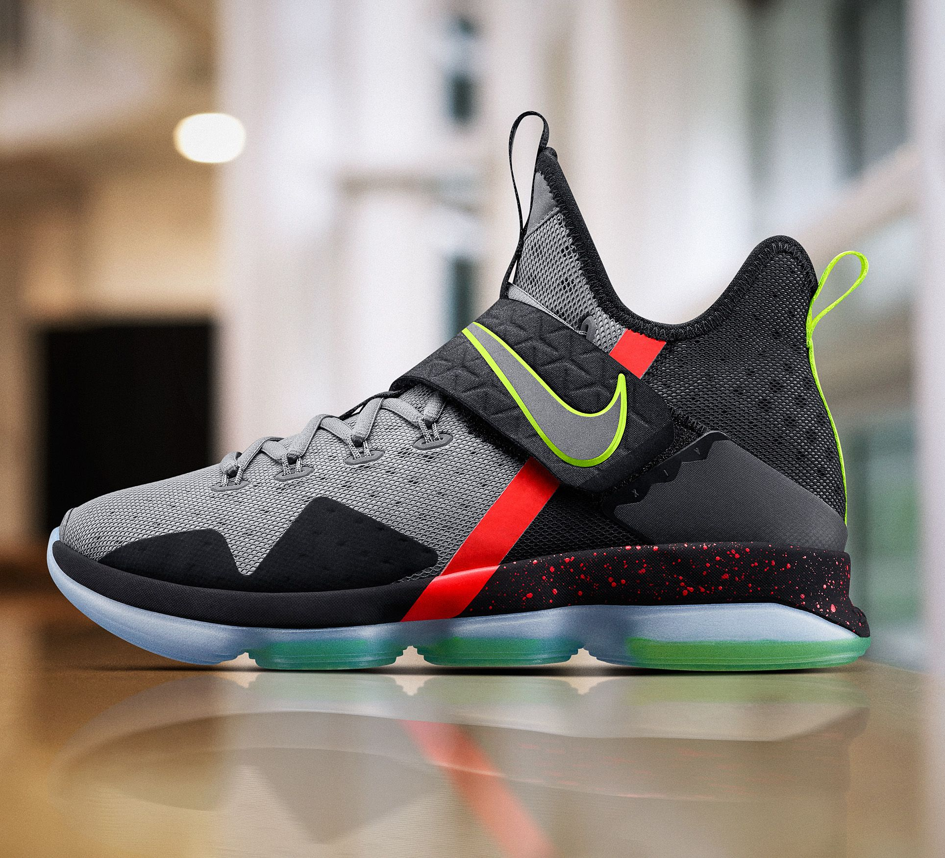 Nike LeBron 14 Release Date. LeBron James debuted the Nike LeBron 14 on  Christmas Day. Look for the Nike LeBron 14 to release in 2017 in several  colorways.