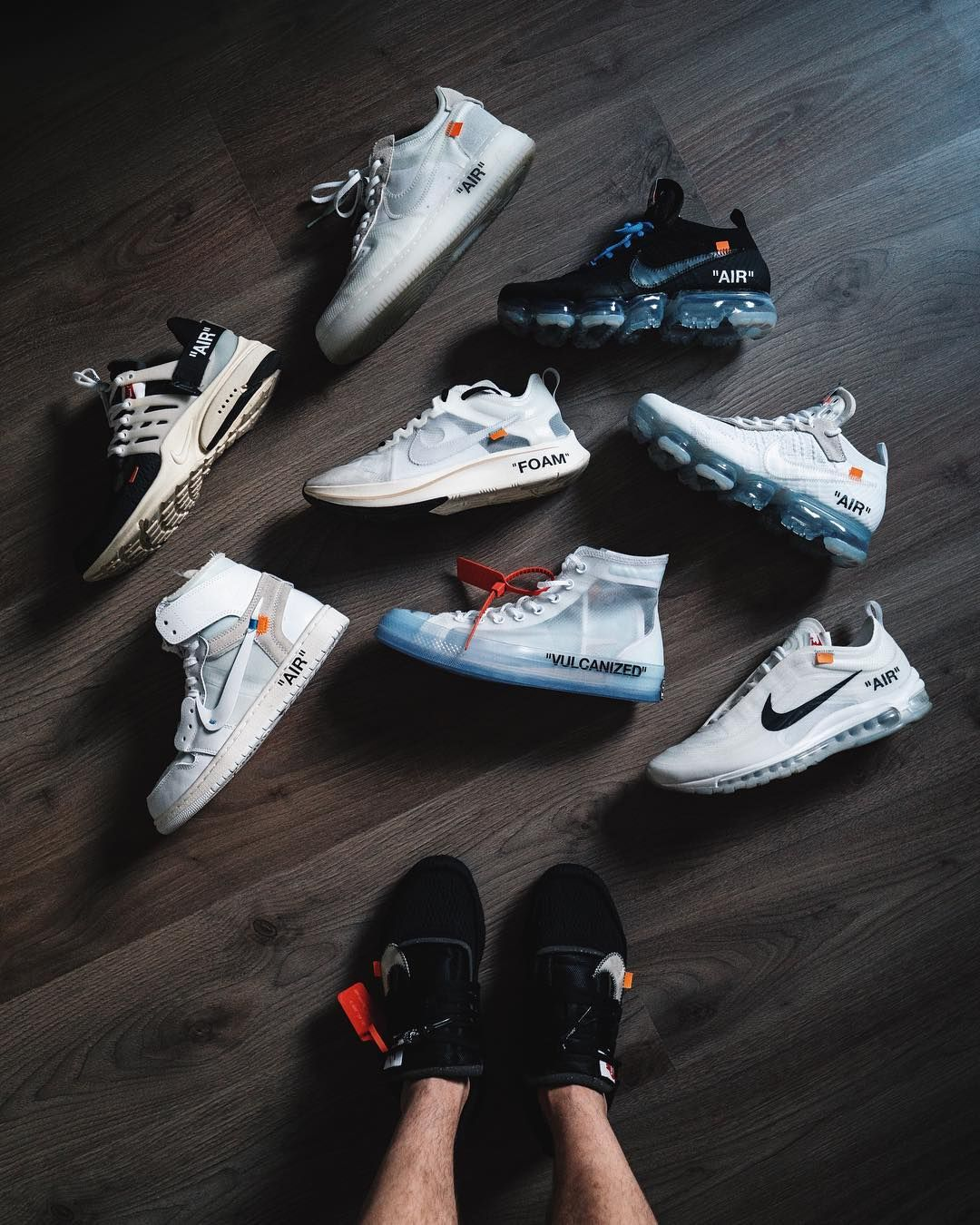 3c94fd377701 Off white x Nike collection Suede Sneakers
