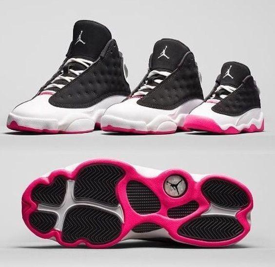 88b216169908 ... Air Jordan Retro 13 Little Kids HyperPink Infant Toddler Preschool Size  3C-11C eBay ...