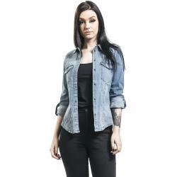 Jeanshemden und -blusen für Frauen