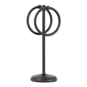 Bronze Double Ring Towel Holder Towel holders Double ring and Towels