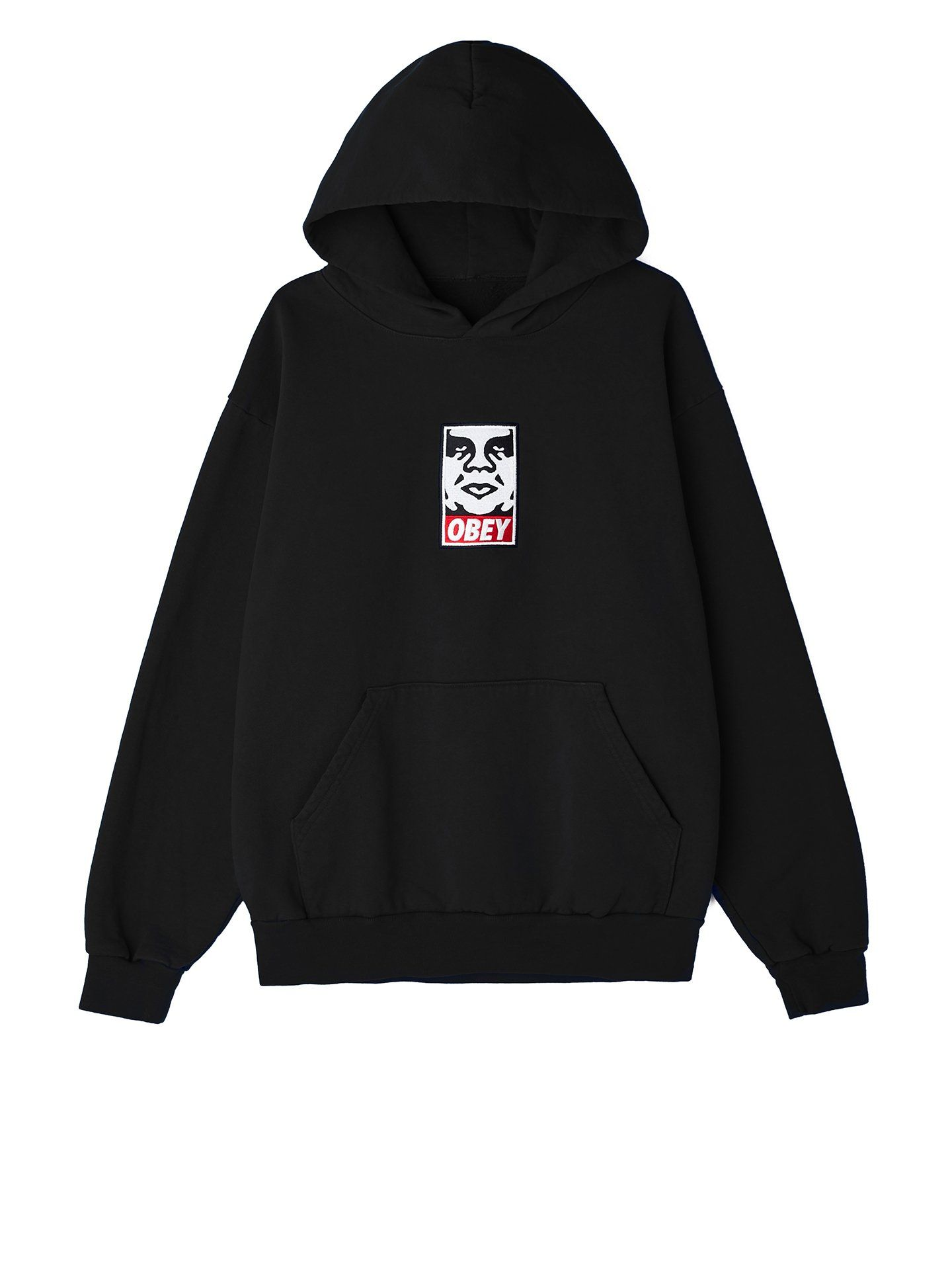 obey icon heavyweight pullover black  07060028db