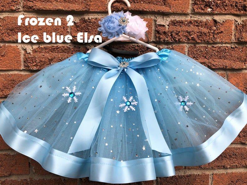 Tutu skirt Frozen tutu Elsa tutu ice queen tutu frozen 2