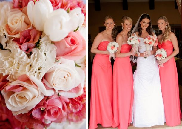 Magical Coral Wedding At Providence By Stuart Dods