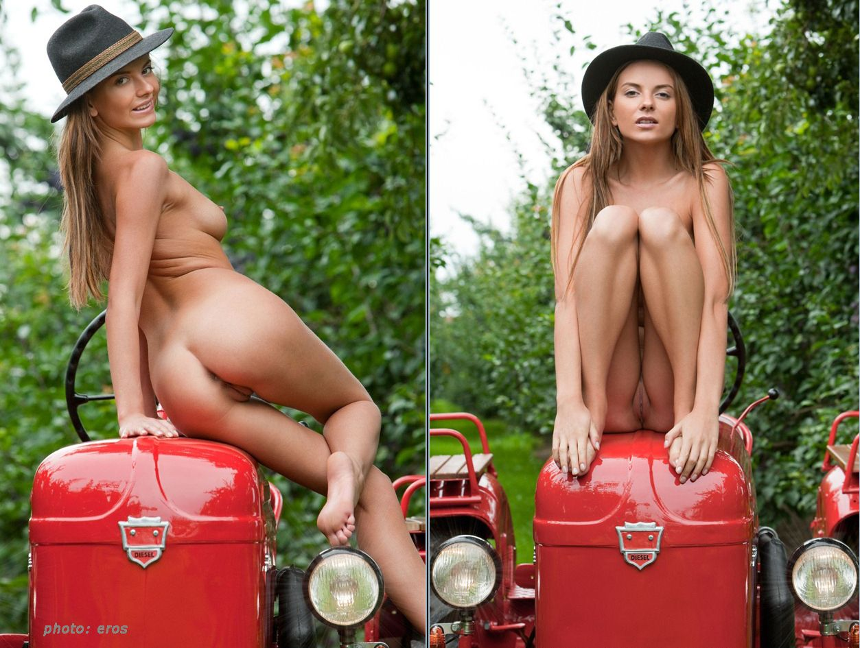 Topic sexy girls naked on a tractor