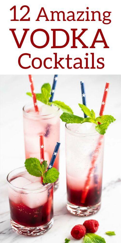 Photo of 12 erstaunliche Wodka-Cocktails