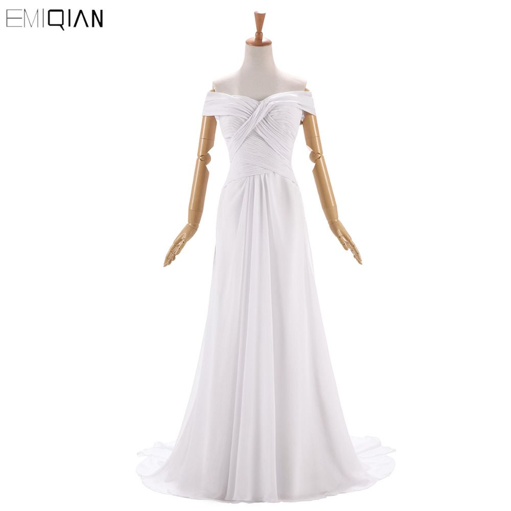 Click to buy ucuc free shipping simple bridal gowns custom made cheap