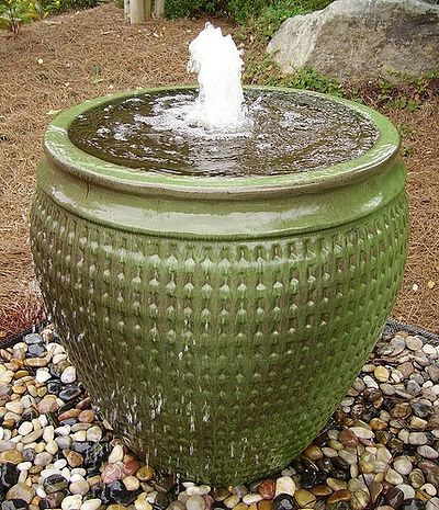 Beau Fountain For Our Pot Idea