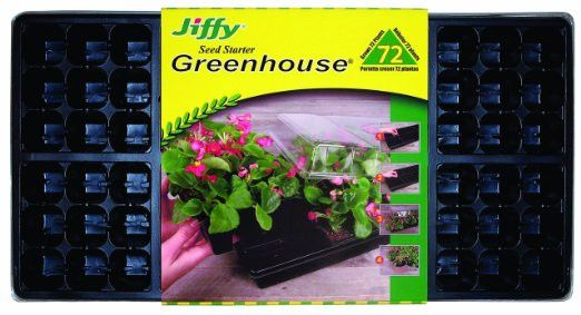 Jiffy Greenhouse 72 The Jiffy Professional Greenhouse 72 contains 72 Jiffy-7 Pellets compactly packaged in a reusable domed tray. Nutriboost