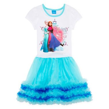 5b1c55a74fa6 Disney Frozen Sisters Tutu Dress - Girls 4-6x found at @JCPenney. mothers,  if you have a daughter or niece who loves frozen you can get them this dress  for ...