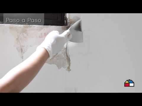 C mo reparar paredes con filtraciones de agua hd youtube humedad en las paredes pinterest - Reparar filtraciones de agua ...
