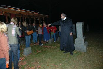 Door County Trolley Ghost Tours- there's even a haunted pub crawl for BJ!