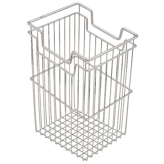 Hafele Tilt Out Laundry Hamper In Chrome Has Lowered Handles For