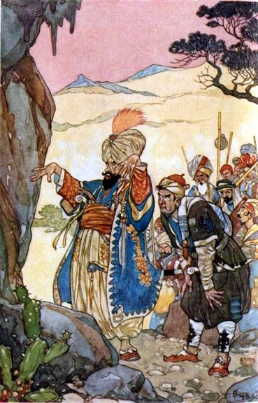 Ali Baba and the Forty Thieves - The Arabian Nights published by Blackie & Sons Limited (London) in 1930
