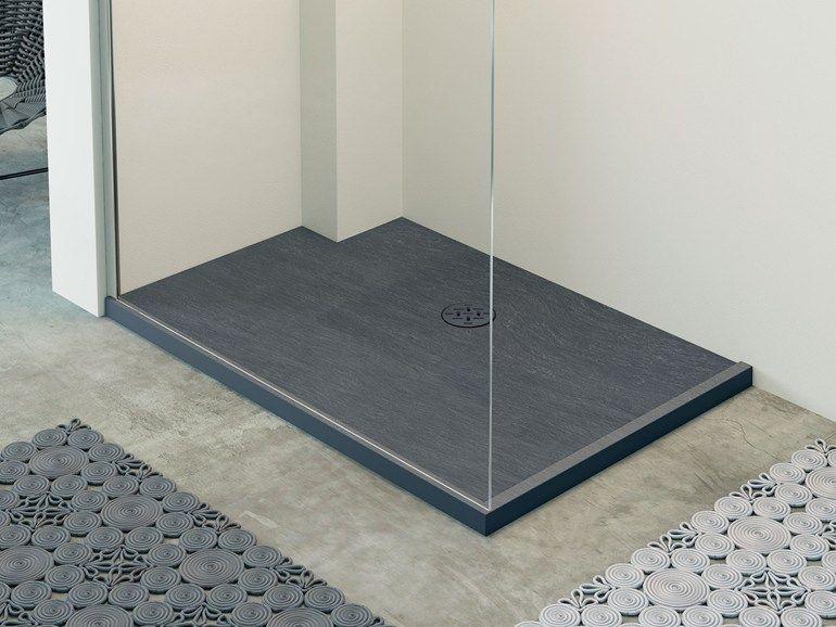 RAZOR Piatto doccia rettangolare Collezione Showering by